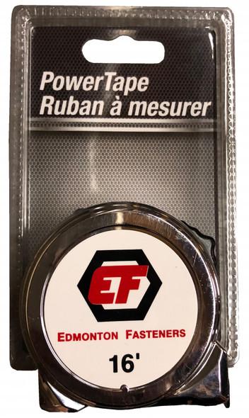"Lufkin EF316 Edmonton Fasteners private label tape measure 16' x 3/4"" Wide"