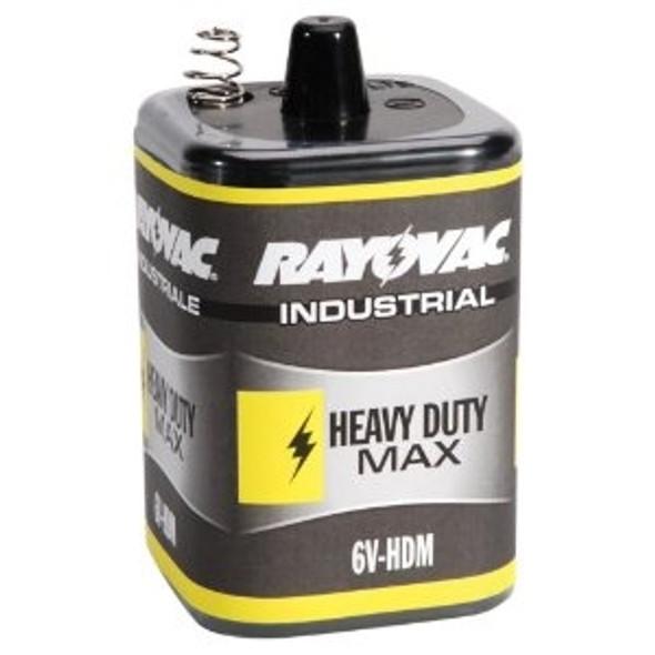 Rayovac 6V-HDM 6-Volt Industrial Heavy-Duty Maximum Lantern Battery