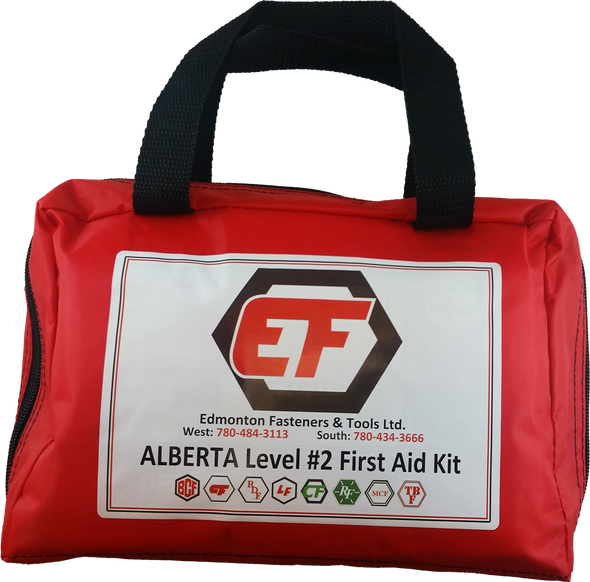 Dentec 81-6018-2 Number 2 Alberta First Aid Kit Nylon Pouch