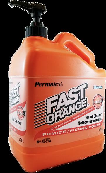 Permatex 20861 Fast Orange Fine Pumice Lotion Hand Cleaner 3.78L
