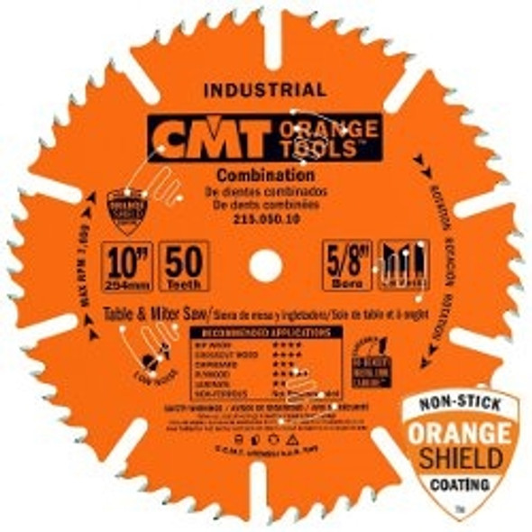 """CMT 215.060.12 12"""" 60 tooth Industrial combination circular saw blade"""