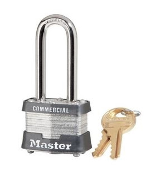 "Master Lock 3KALH 1 9/16"" Laminated Steel Pin Tumbler Padlock, Keyed Alike #0464"