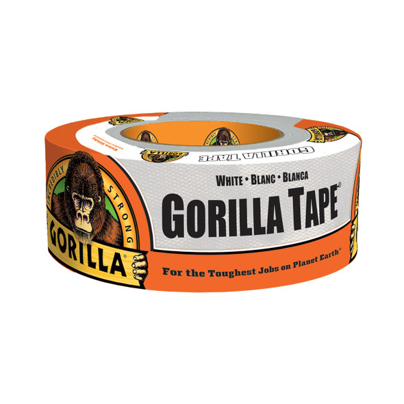 "Gorilla Tape 6025001 White Duct Tape 1.88"" x 30 yards"
