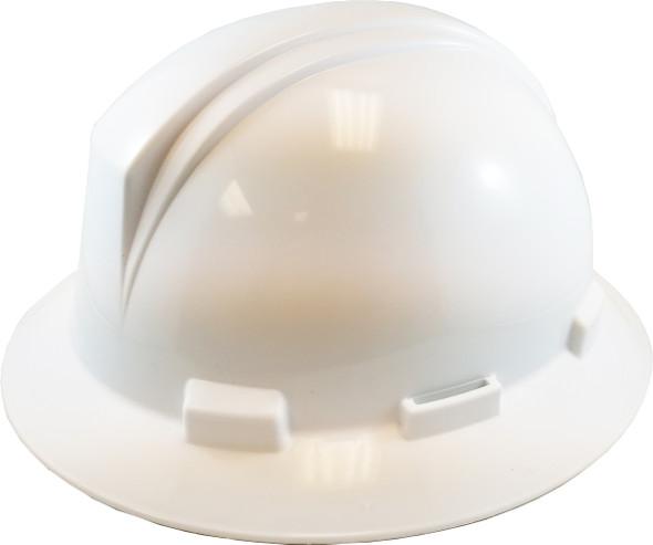 Dynamic Safety HP641R/01 Kilimanjaro Full Brim Hard Hat CSA Type 1, Ratchet - White