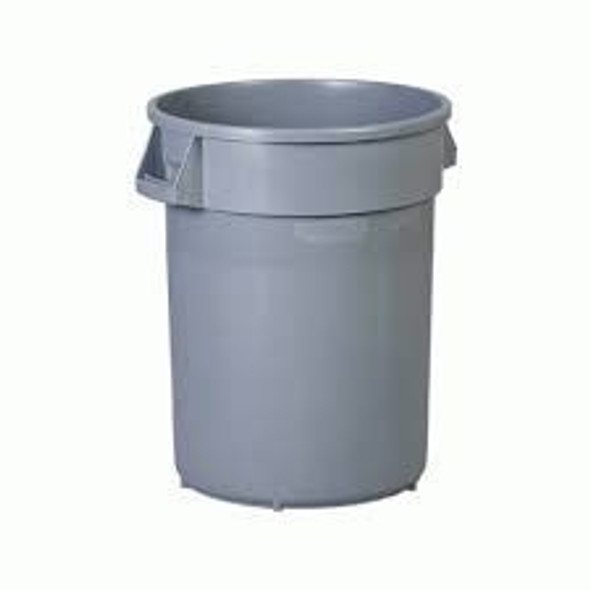 Grey Garbage Can 20 Gallon