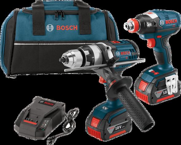 Bosch 18V Hammer Drill & Impact Driver Kit