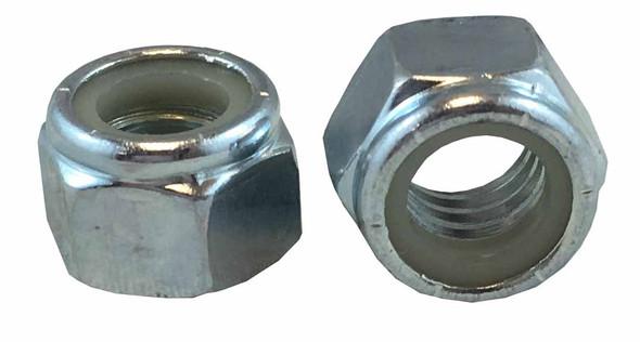Nylon-Insert Lock Nut - Zinc PLTD - Fine