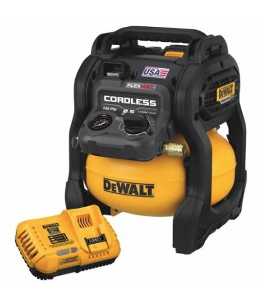 Dewalt Flexvolt 60V MAX 2.5 Gallon Cordless Air Compressor Kit