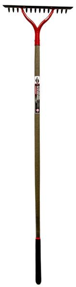 "GARANT GBLR14 Bow rake, 14 tines, 54"" handle"