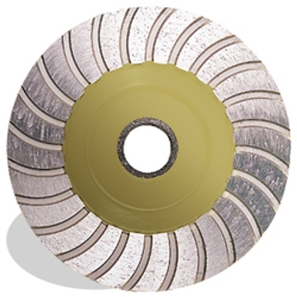 Pearl PW4F 4 x 7/8, 5/8 P5 General Purpose Turbo Cup Wheel, Fine