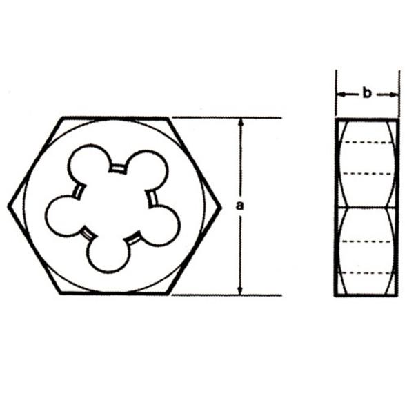 Champion Cutting 330-3/4-10 Hexagon Re-threading Dies