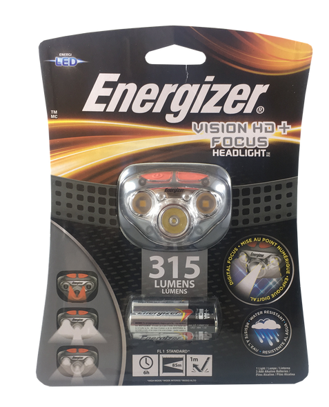 Energizer  Vision HD+Focus LED Headlamp - 315 Lumens