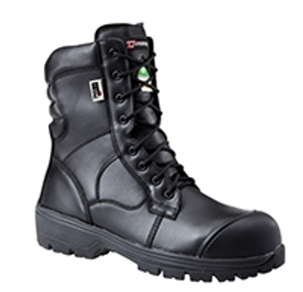 """Dynamic SF89561 Nelson 8"""" Safety Boots Black - Size 12"""