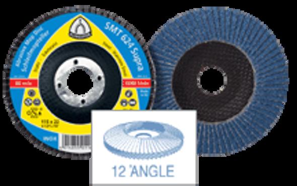"Klingspor 222106 5""x 7/8"" 36 Grit SMT624 Zirconia Flap Disc"