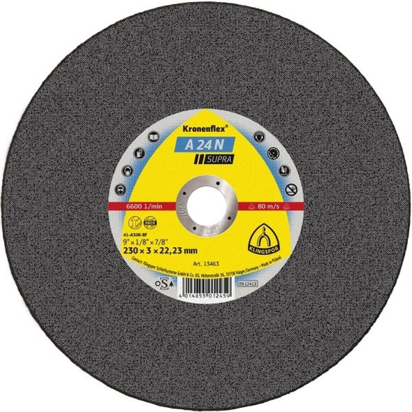 "Klingspor 263882 6"" x 1/16"" x 7/8"" Kronenflex Cut-Off Wheels"