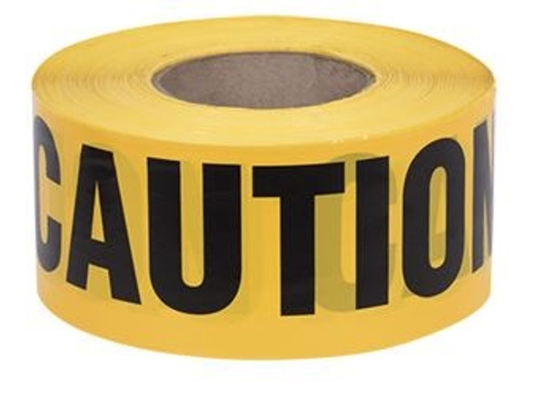 "JET ""Caution"" Tape 3 x 1000'"