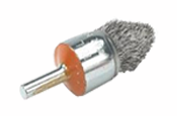 "Walter 13-C 028 3/4"" Mounted brush with crimped wires"
