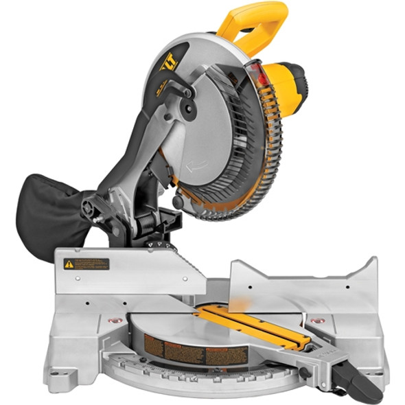 Dewalt DW715 12 inch (305mm) Single-Bevel Compound Miter Saw