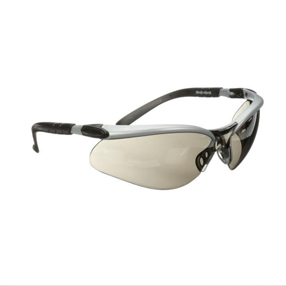 3M 11381-00000-20 BX Protective Eyewear, Grey Anti-Fog Lens, Silver/Black Frame