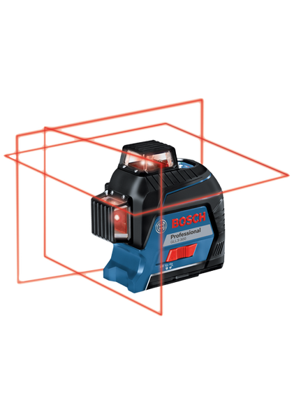 Bosch 360 Degree Three-Plane Leveling and Alignment-Line Laser