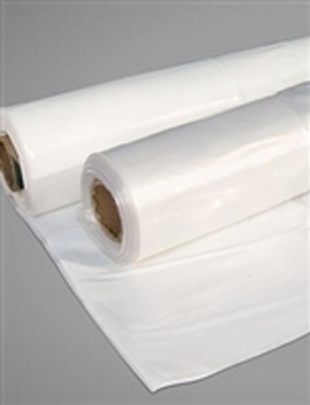 Clear Polyethylene Sheeting 6 Mil Heavy Duty 1000 Square Feet