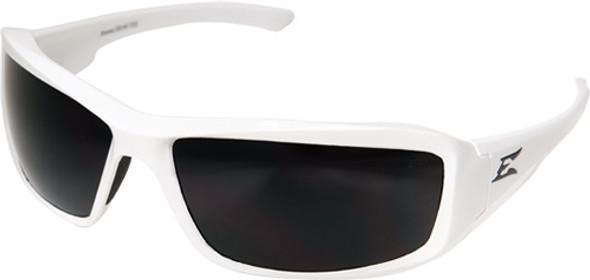 Edge Eyewear TXB446 White Brazeau Designer Polarized Smoke Safety Glasses