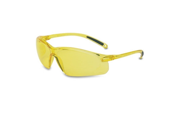 UVEX A702, A700 Series Safety Glasses, Amber Frame, Amber Lens
