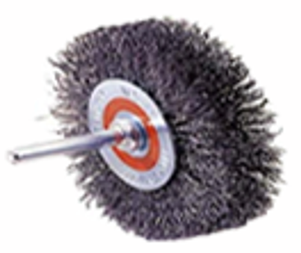 Walter 13-C 175 Mounted Crimped Wire Brush, Wheel - 3""
