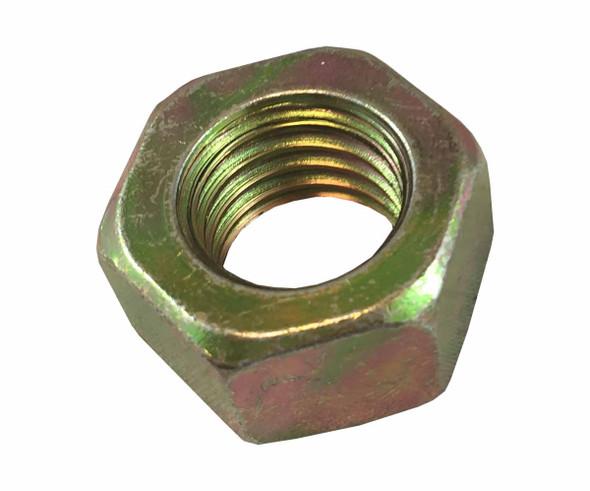 Hex Nut - Yellow Zinc - Coarse Grade 8