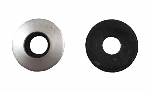 "Neoprene Bonded Washer #8 x 1/2"" - Stainless Steel"
