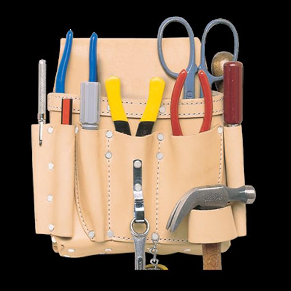 Kuny's EL521 8 Pocket Electrician's Tool Pouch