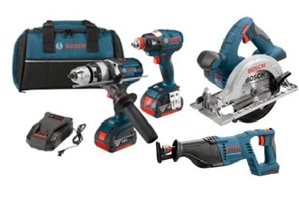 Bosch 18V 4 Tool Combo Kit