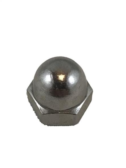 "1/4"" Stainless Steel Acorn Nut"