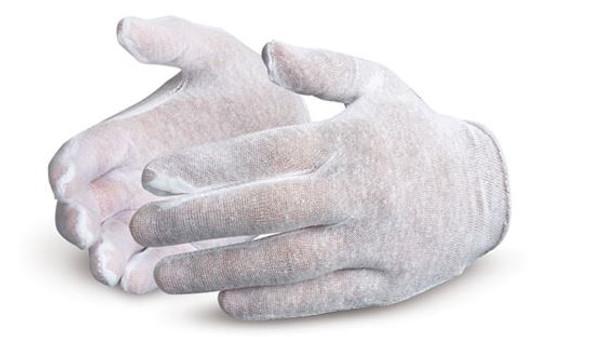 Superior Glove ML40 Lightweight Cotton/Poly Slip-On Inspector Gloves