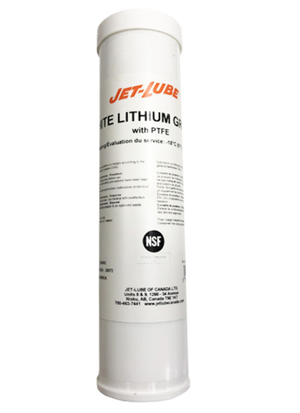 Jet Lube White Lithium Grease 14oz