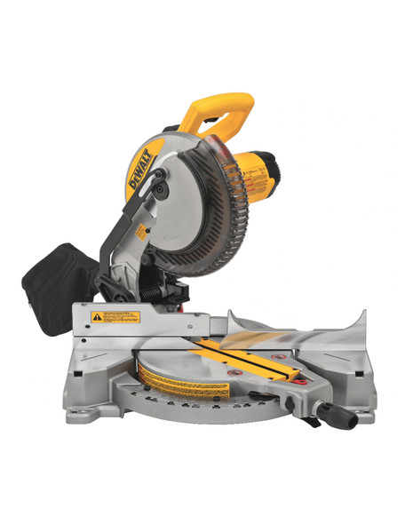 Dewalt DWS713 15 Amp 10 in. Electric Single-Bevel Compound Miter Saw