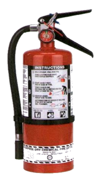 5 Lb Multi-Purpose Dry Chemical Portable Fire Extinguisher