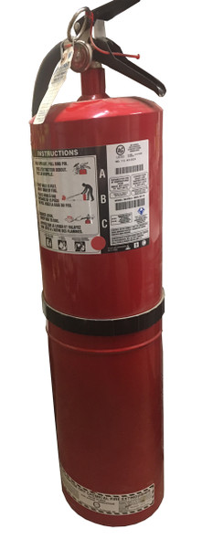 30 Lb Multi-Purpose Dry Chemical Portable Fire Extinguisher With Wall Mount