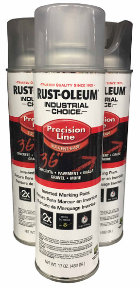 Rust-Oleum 1601838 Solvent Based Inverted Marking Paint - Clear