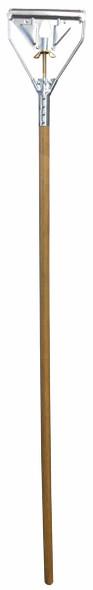 """Quickway Wooden Mop Handle - 54"""" x 1"""""""