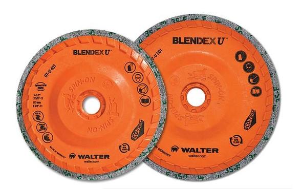 "Walter 07-U 501 5"" x 5/8-11"" BLENDEX U Grinding Wheel/Disc"