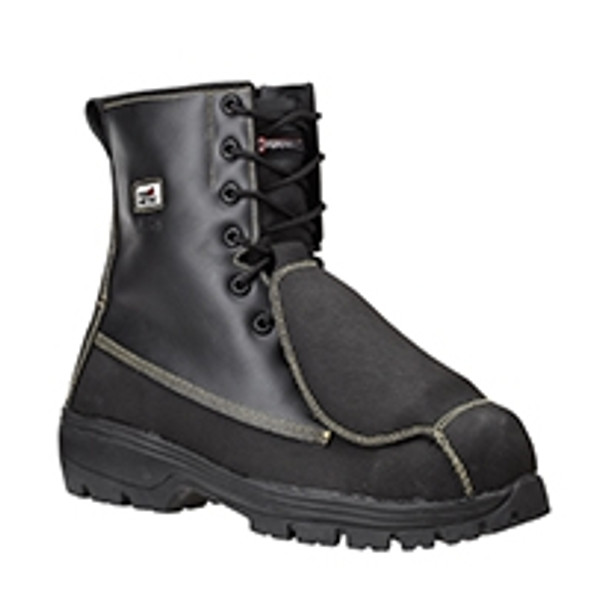 Dynamic SF89491 Indus Safety Boots Black - Size 12