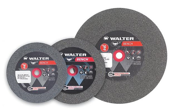"Walter 12-E 324 Bench grinding wheels-6"" X 3/4"" X 1""- Coarse"