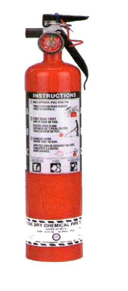 2.5 Lb Multi-Purpose Dry Chemical Portable Fire Extinguisher