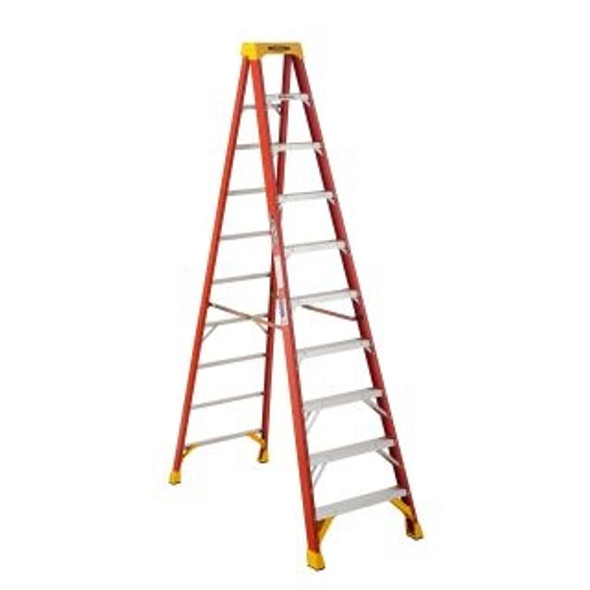 Werner 6210CA, 10 ft Type IA Fiberglass Step Ladder