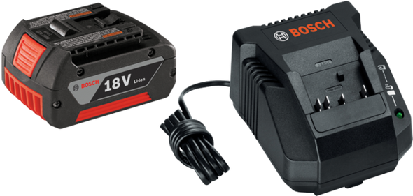 Bosch SKC181-101 18V Lithium-Ion Battery and Charger Starter Kit