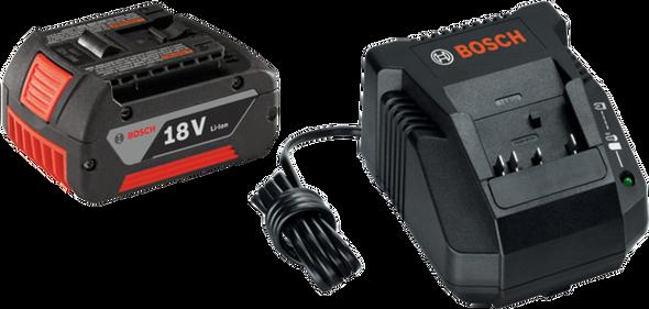 Bosch SKC181-101 18V Lithium-Ion Battery and Charger Starter Kit
