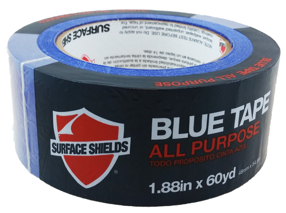 "Surface Shields BT2180C Painter's Grade Blue Tape -2"" X 180' Roll"