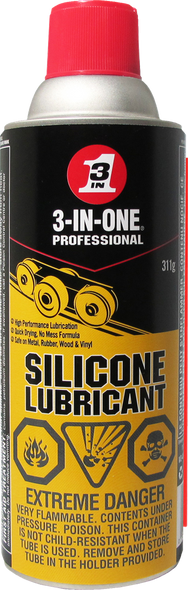 3-IN-ONE 01141, Pro Silicone Lubricant Spray - 311g