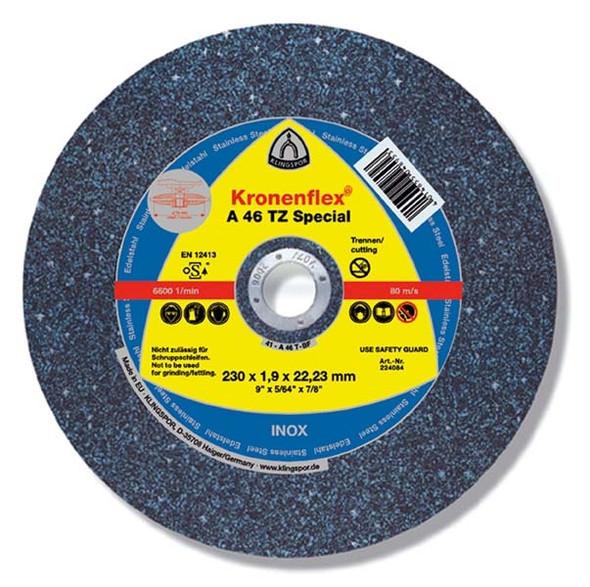 """Klingspor 187170 4-1/2"""" X 1/16"""" X 7/8"""" Cutting Wheel"""